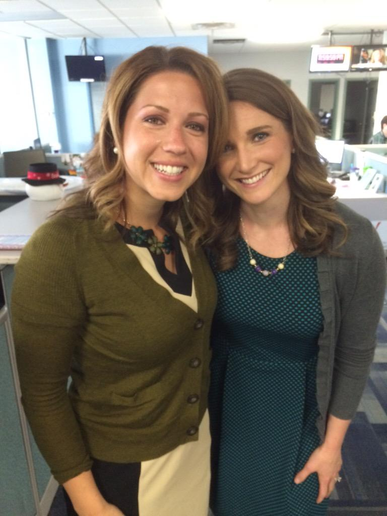 """Amanda Hill on Twitter: """"Disregard the tears streaming down my face, I love this lady! Her final day at @WCSH6 @WLBZ2 more adventures to come! ..."""