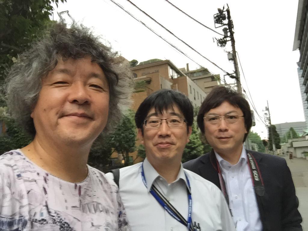 登坂淳一 Pinterest: 読売新聞の、山根章義さん、山本淳一さんにお目にかかりまし