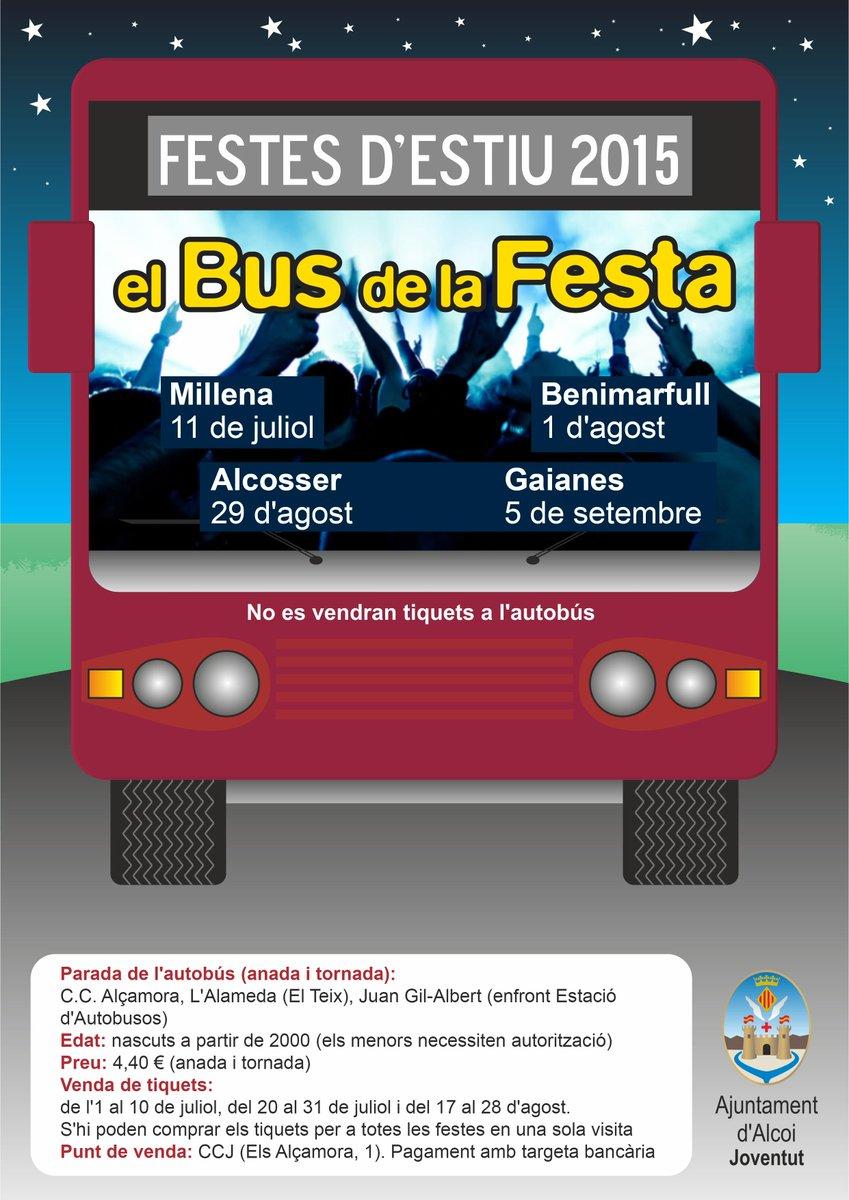 Aj Alcoi- Bus Festa 15