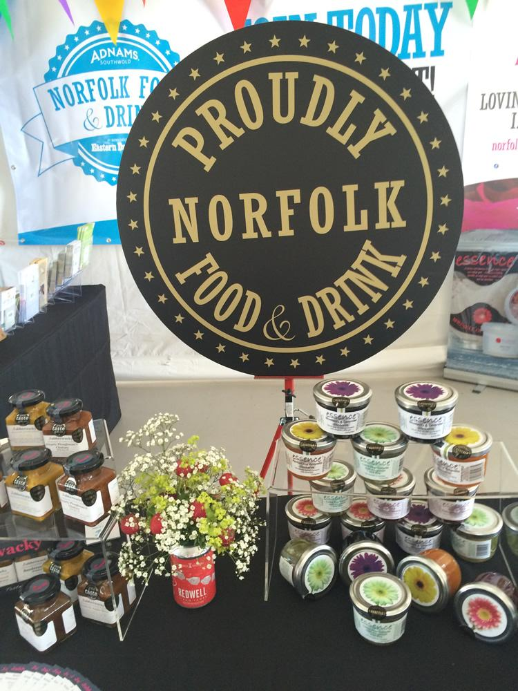 Super competition, & launching at @norfolkshow is #ProudlyNorfolk! Want to know more, pay us a visit in the Food Hall http://t.co/vHj0PQ77mg