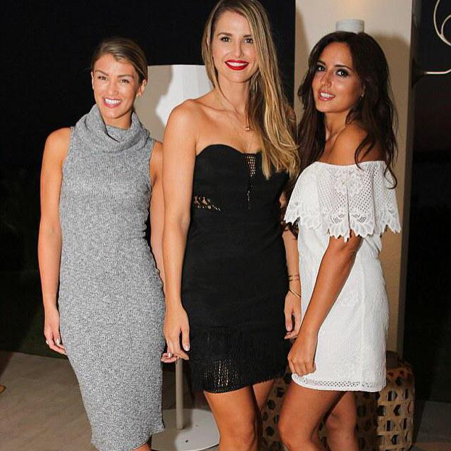 Gorge girls @amywillerton @VogueWilliams @NadiaForde wearin pieces from my AW15 @LipsyLondon collection OUT in 2days! http://t.co/sDOYdMCu7C