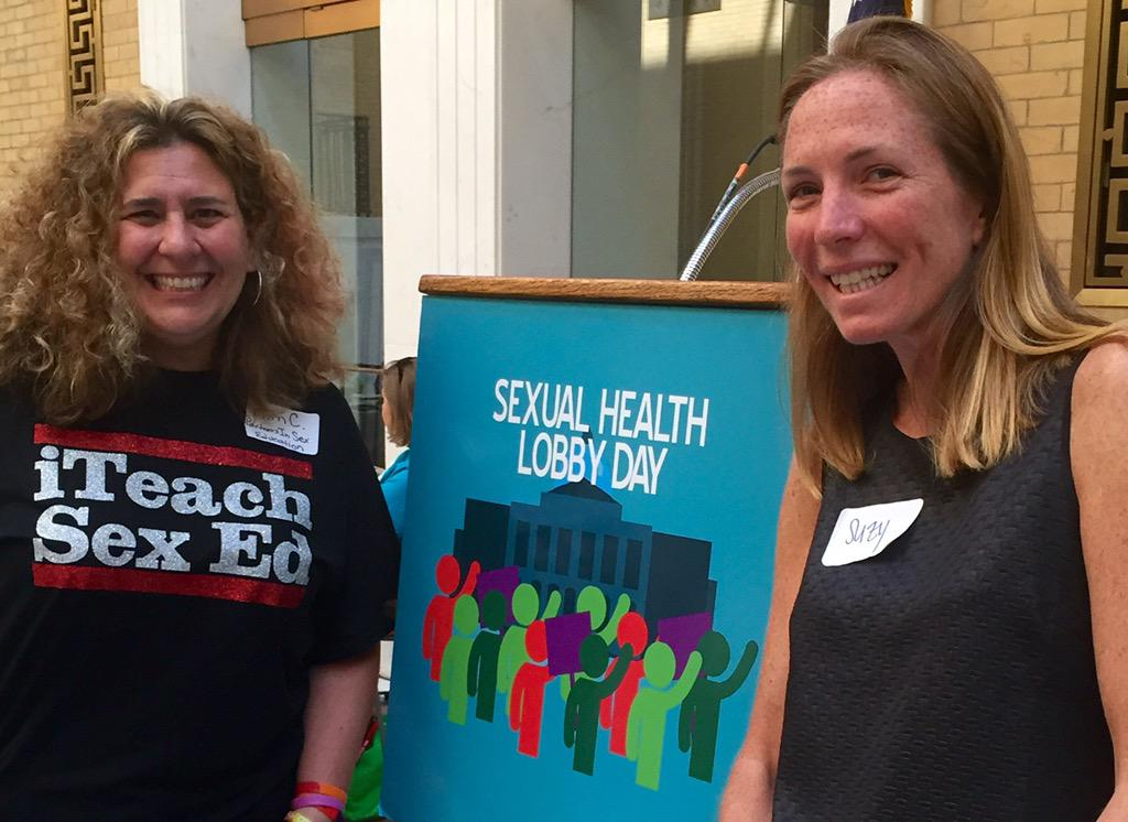 @sspressert and I lobbying at the State House for sexual health during #SHLobbyDay #mapoli http://t.co/gwwDjfT3HE