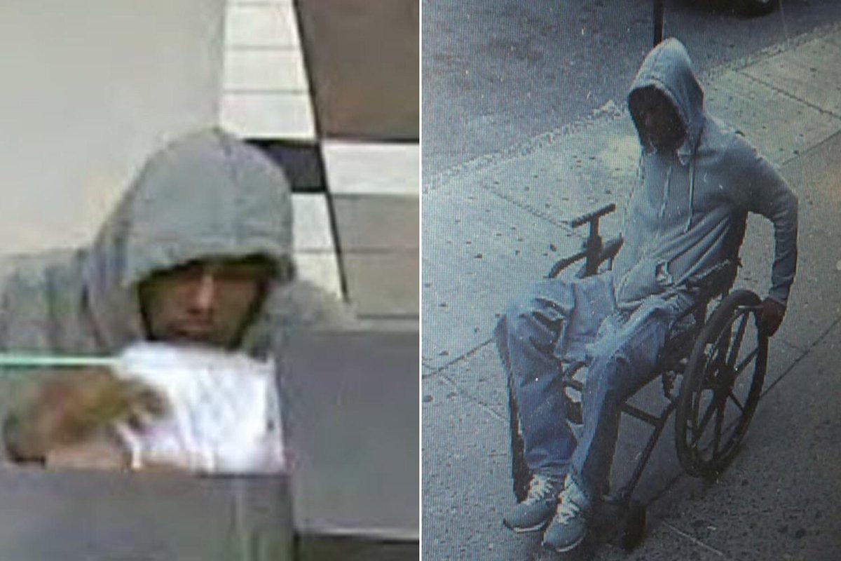 New York (USA) rapina una banca e fugge a bordo della sua sedia a rotelle: è latitante
