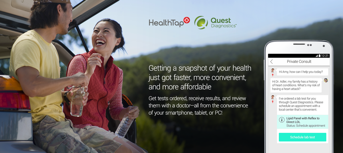 Healthtap On Twitter Breaking News We Teamed Up With Questdx To