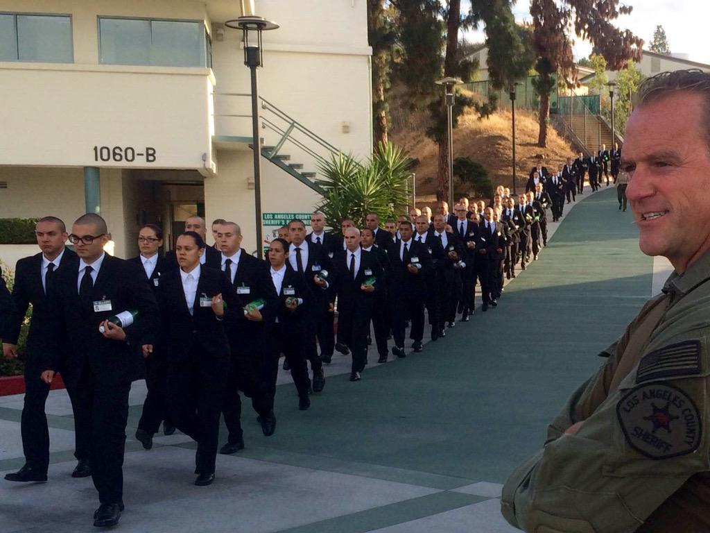 day 1 los angeles county sheriff s academy class 408 future