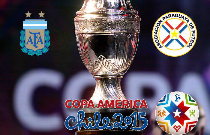 Argentina-Paraguay info streaming calcio diretta tv semifinale Coppa America Cile 2015