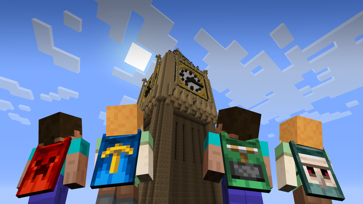 Dantdm On Twitter Check Out The Minecon 2015 Cape On The Far