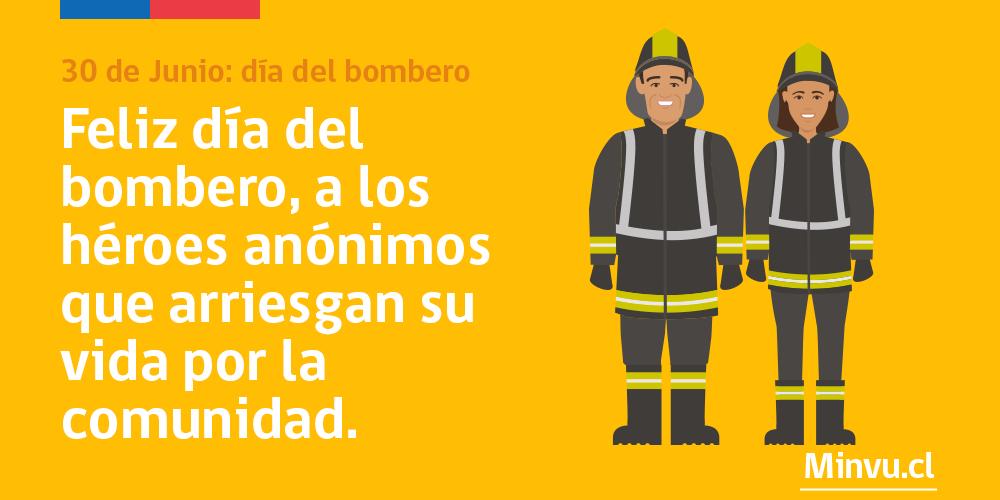 Permanentemente en lo programas sectores medios y vulnerables, Bomberos tienen puntaje especial #FelizDiaDelBombero http://t.co/rsTaFHsDBg