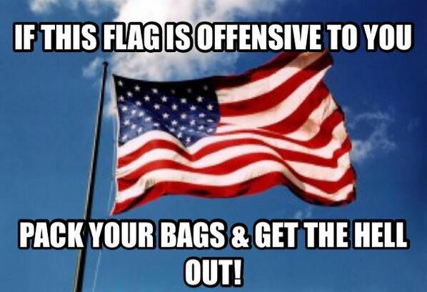 Black leftists to burn American flags in Brooklyn 'Symbol of oppression'