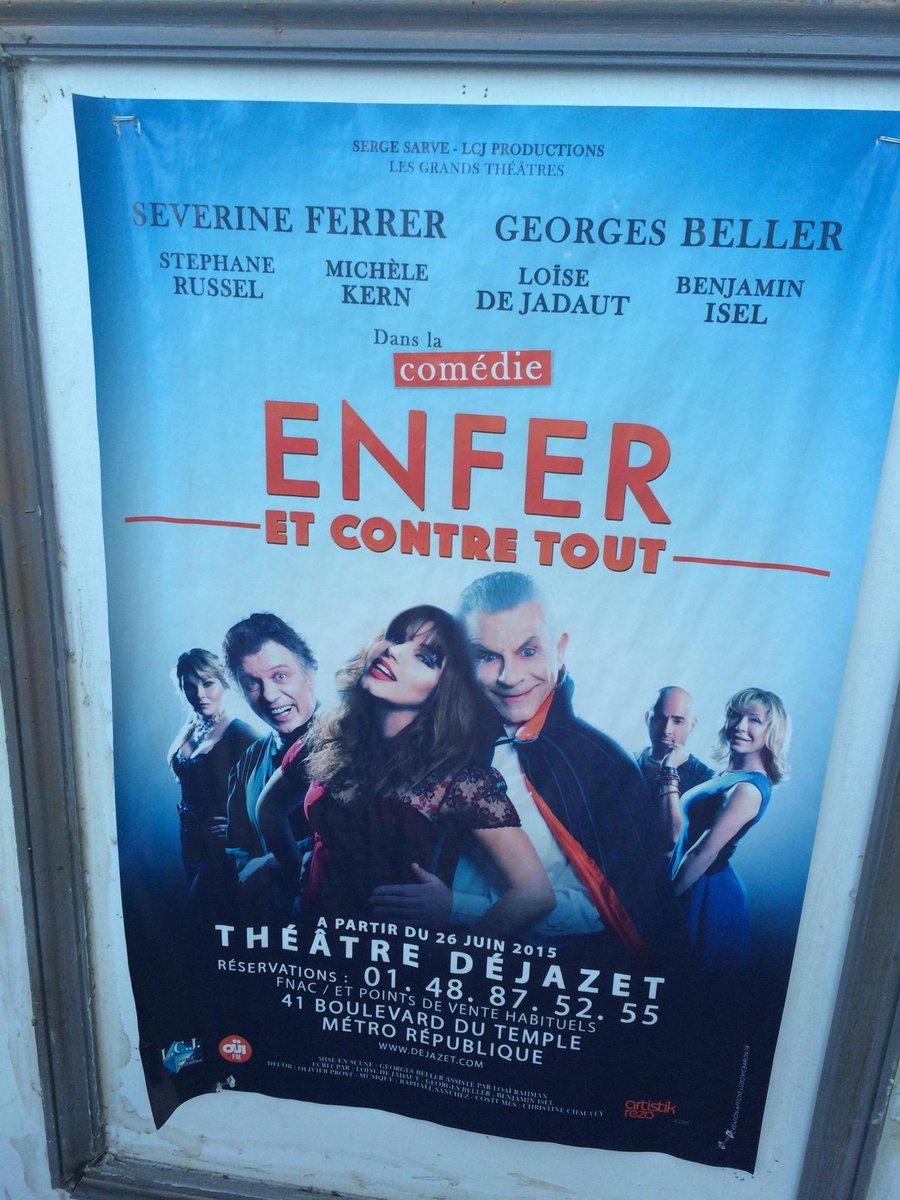 #EnferEtContreTout pour #SmartGirlsBlog (@ Théâtre Dejazet in Paris, Île-de-France)  https://www. swarmapp.com/c/4SfMu7feFz1    pic.twitter.com/OJe7Gg6eJi