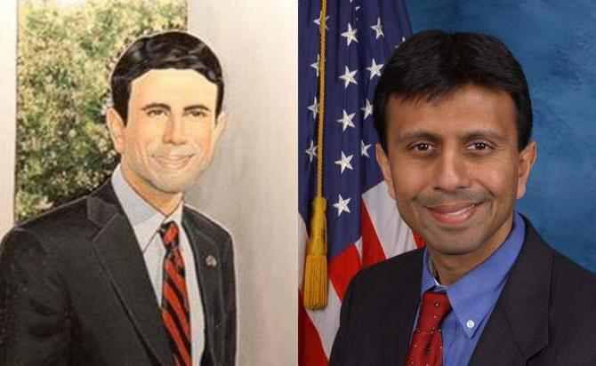 Jindal white guy portait