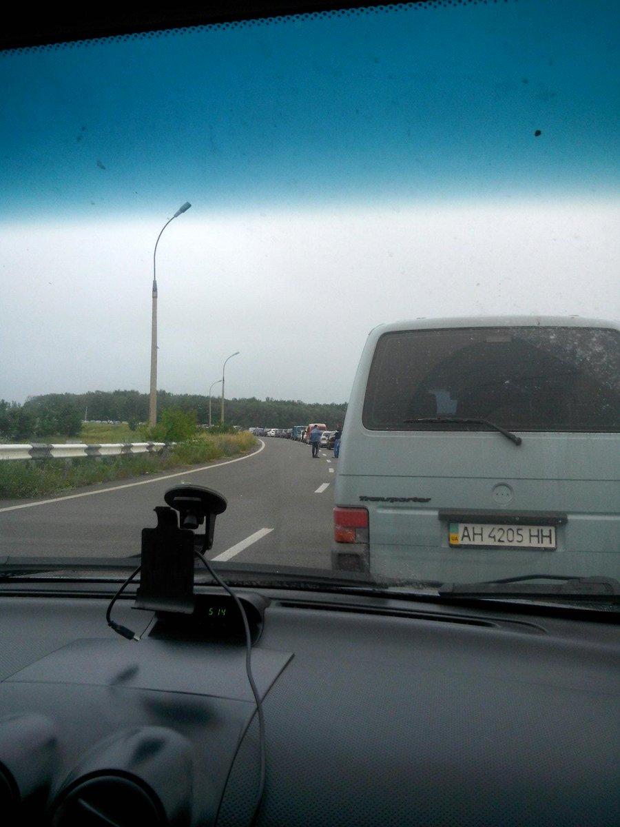 СБУ предупредила взрыв на автодороге около Северодонецка - Цензор.НЕТ 4227