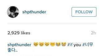 Thunder&#39;s emojis tho...... hahaha #deepmeaning #mocking? Lol<br>http://pic.twitter.com/D7DdBlV4Lp
