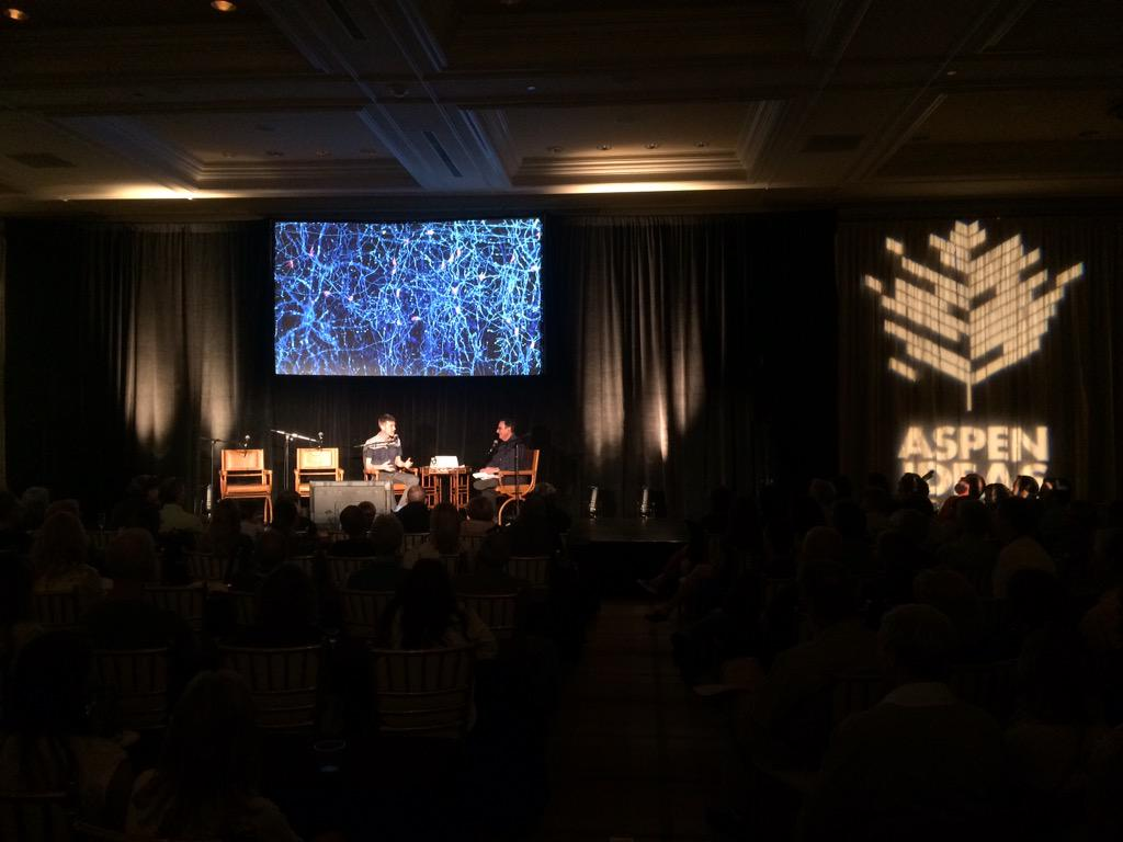 And that's a wrap! @scifri live in Aspen. Airs Friday 2pm ET #scifriaspen #aspenideas http://t.co/w1oNusx1D1