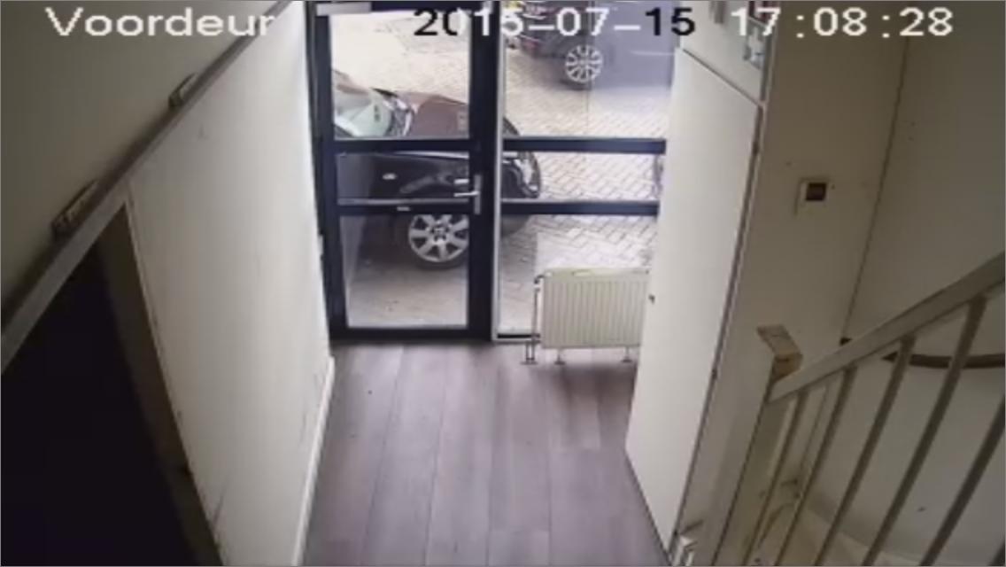 CCTV Camera beveiliging geplaatst in bedrijfspand