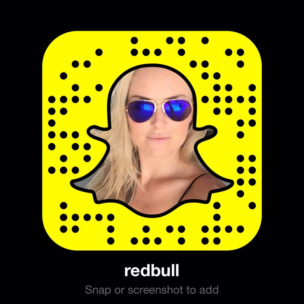 Snapchat Lindsey Vonn