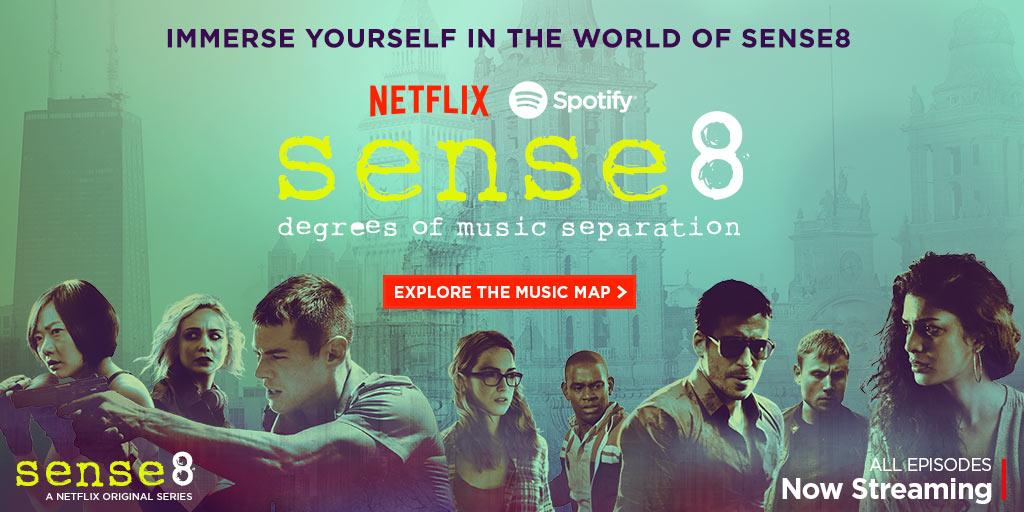 Spotify On Twitter See How You Your Favorite Artists Connect Through Sense8 Degrees Of Music Separation T Co Usyjrod33f T Co Aocxfyqkge