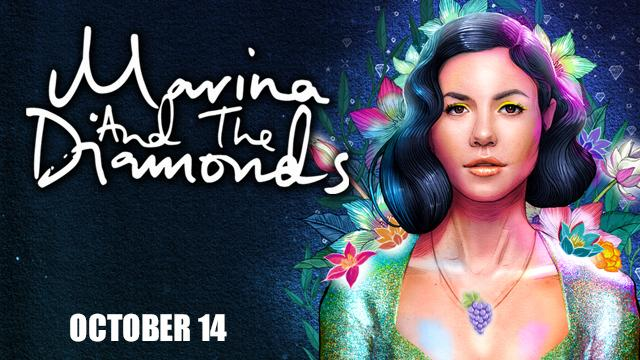 Due to popular demand, the previously sold out @MarinasDiamonds show on 10/14 has moved to @SSBallroom. Tix honored. http://t.co/8K5oR9J9WE