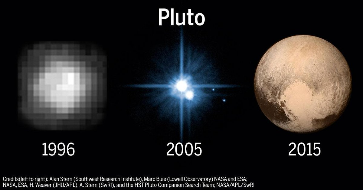 We've come a long way baby http://t.co/bYwVA4EN2q #PlutoFlyby http://t.co/auKd3OrKko