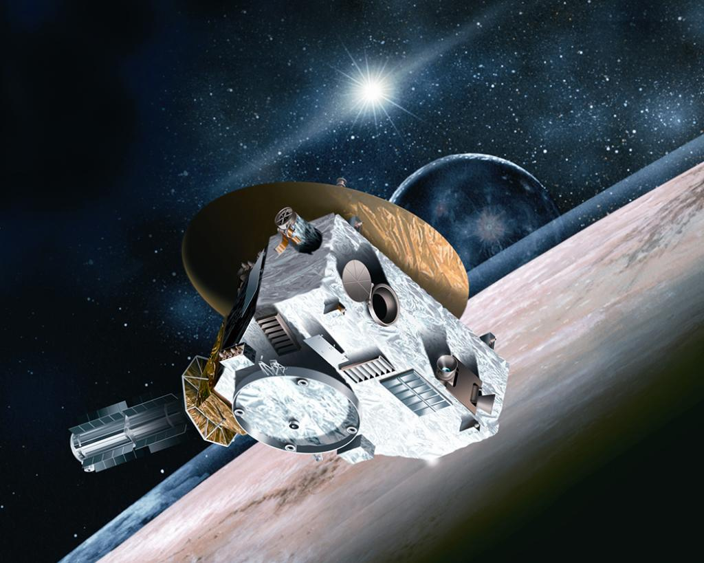 LIVE Now: @NASANewHorizons #PlutoFlyby briefing with new images! Watch: http://t.co/KX5g7yYnYG Question? Use #askNASA