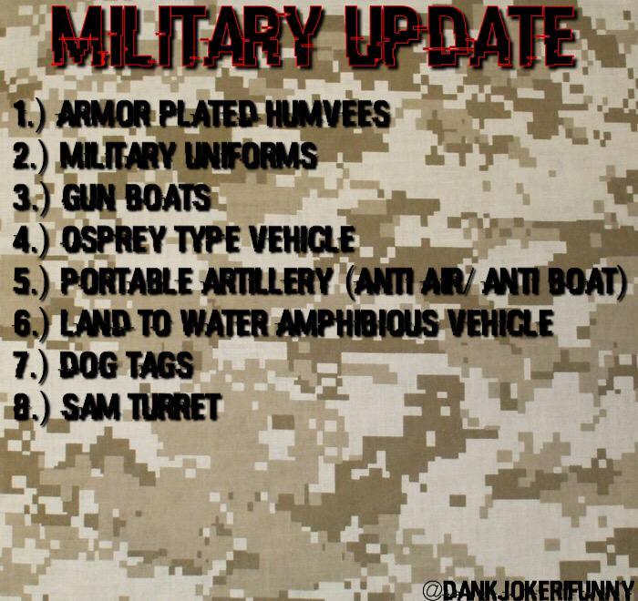 militaryupdate hashtag on Twitter