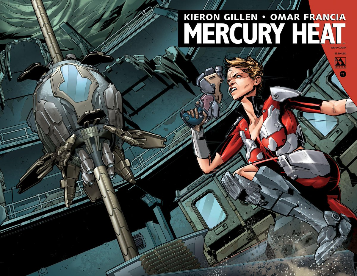 @kierongillen's new sci-fi series #MercuryHeat is in #comic shops today! Avail at your local store or on @comixology http://t.co/ZIb5FNfEaE