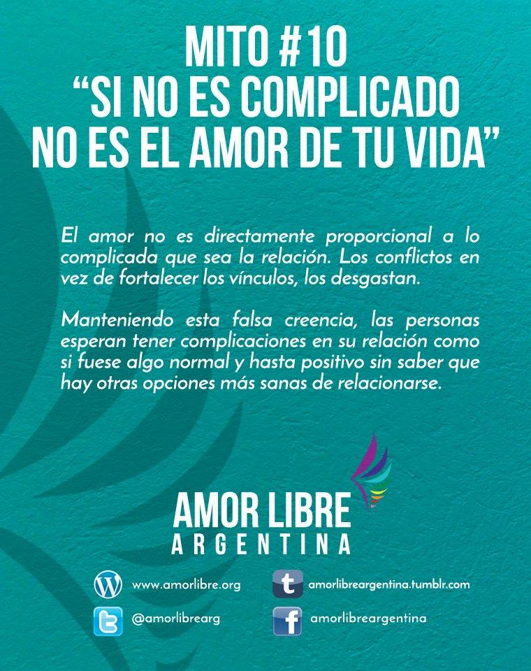 Amor Libre Argentina On Twitter Mitos X Frases Y