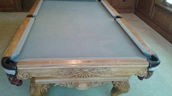 8.5ft (St. Regis) Golden West Pool Table $5000$ Includes:  Prof/Deliveryu0026Install/new Felt Colorpic.twitter.com/a3T87jtkZE