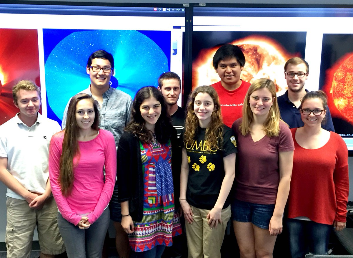 I'm working on a site that @NASA #spaceweather forecasters (incl. these interns) use to log solar events #RaceOnTech http://t.co/TQLkK7xJXv