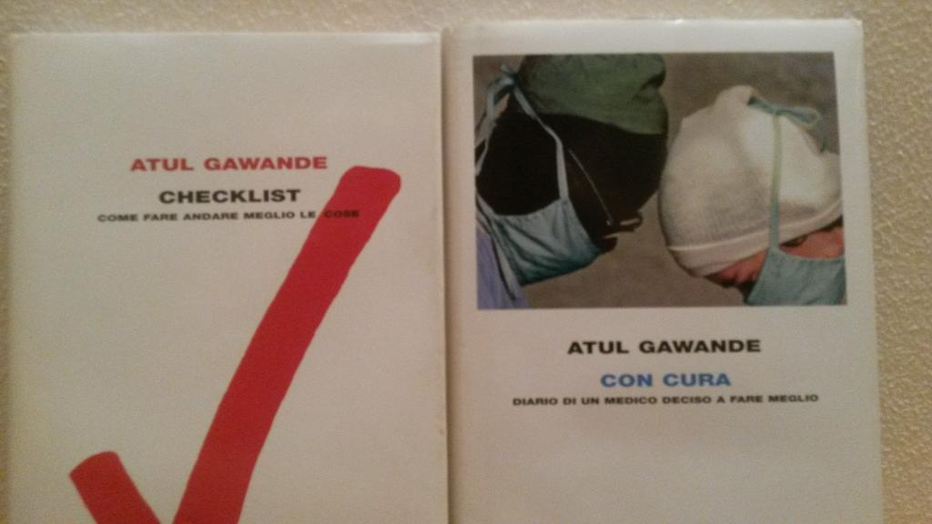Italian editions of @Atul_Gawande Better and The Checklist Manifesto. Waiting to comment #BeingMortal at #nephjc http://t.co/6Iqs3xghWP