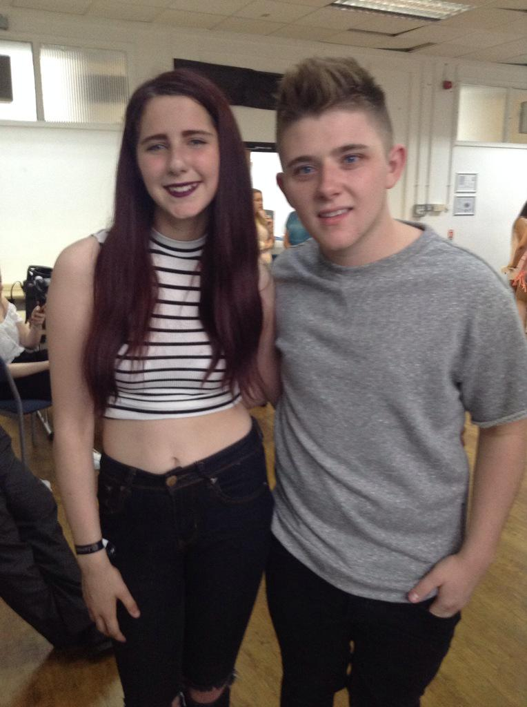RT @CravinCliffxrd: He's so nice💜💜 You were amazing tonight nicky🎉 I love you✨ @nickymcdonald1 💎 http://t.co/ZnFAnZCPBf