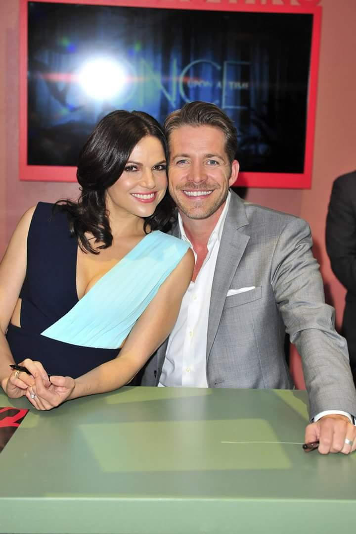 """Once Upon A Time on Twitter: """"Lana Parrilla and Sean ..."""