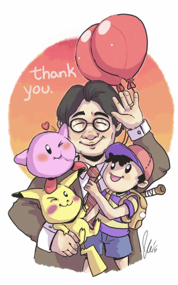 Okay all done! #ThankYouIwata http://t.co/5L0uFbj8sd