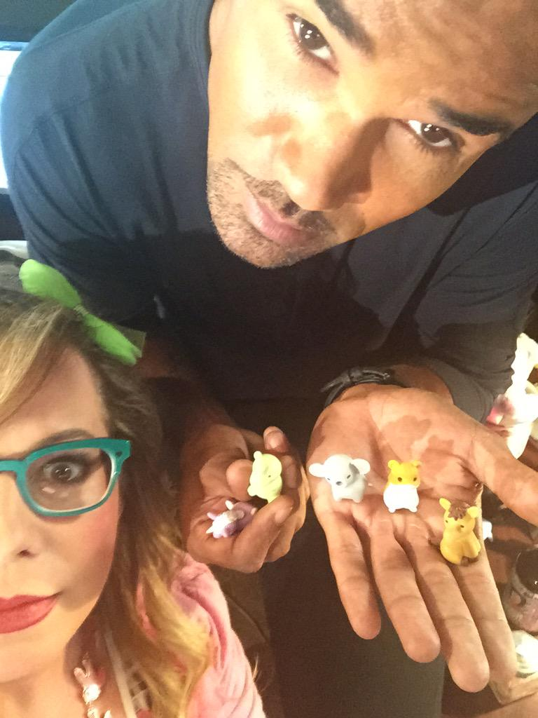 """""""Hey, hold up these animal erasers for a weird picture I wanna take"""" she said. http://t.co/hLl8f7PpOX"""