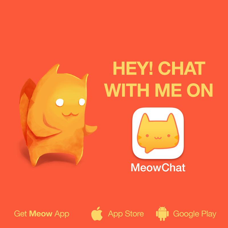 meow chat app