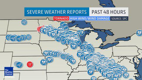 Thunderstorms Roll Across Midwest; 1 Dead in Kentucky Flood