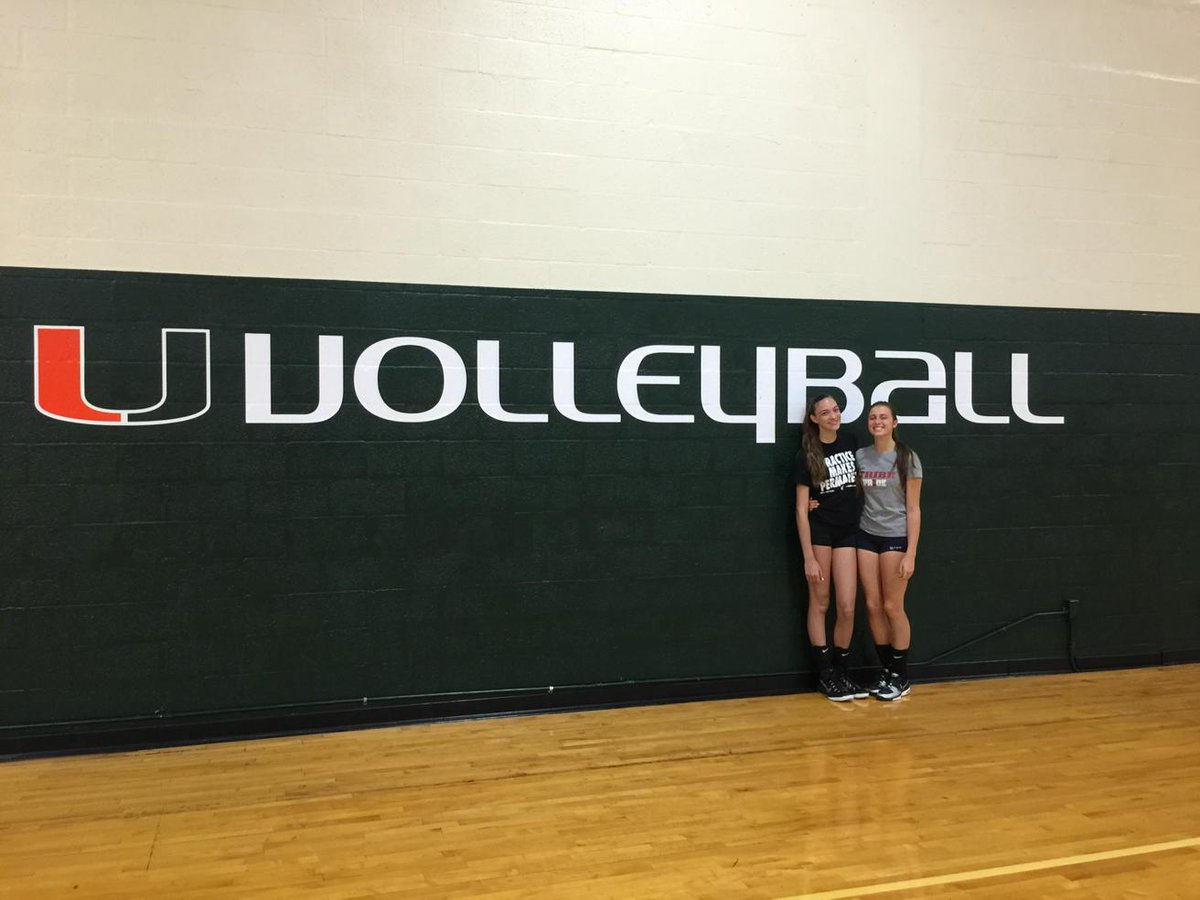 Tribe Vball On Twitter Tribe S Julia Schner And Vittoria Sottani Volleyball Tour Continues At The U Of Miami Thetribeway Http T Co Vdx5ritmtn