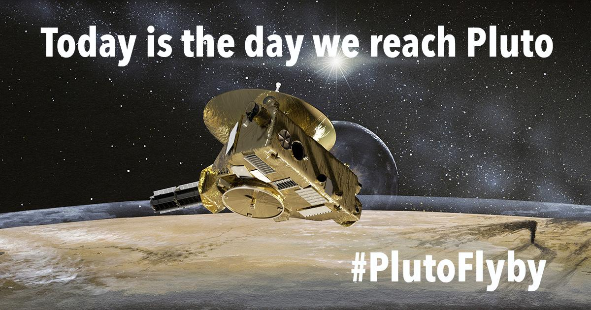 LIVE NOW: Our @NASANewHorizons news briefing! Learn about today's #PlutoFlyby and #askNASA: http://t.co/KX5g7zfYQe http://t.co/jbNIV7szXQ