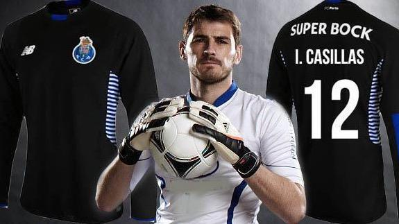 f66f138a935 it has been confirmed by the club that iker casillas will wear the number  12 shirt