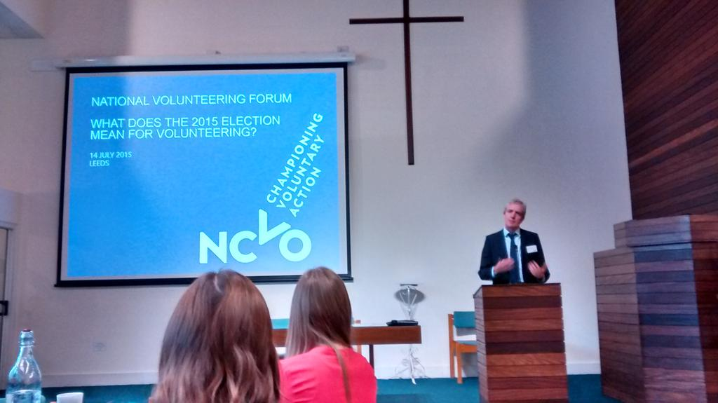 What does the 2015 election mean for volunteering? I'll let you know what @NCVO say #volforum http://t.co/KNc82AUWkL