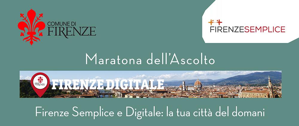 Domani cittadini e amministratori discutono di una Firenze Digitale e Semplice. Partecipa con #ascoltaFirenze http://t.co/oqZ9xMILFa