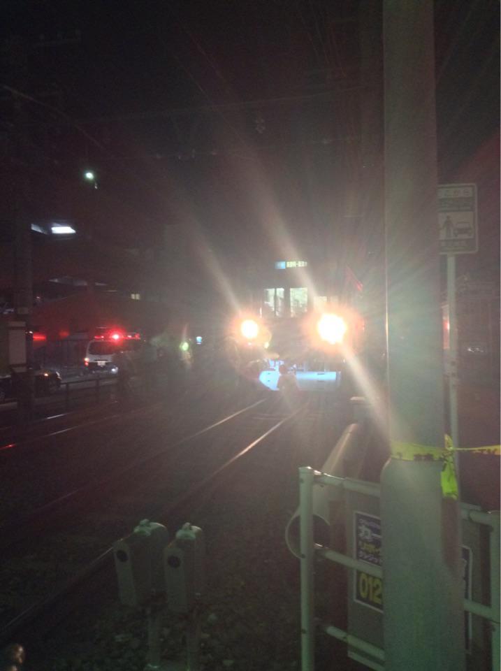 静鉄電車で人身事故があった模様 (@ 日吉町踏切 in 静岡市葵区, 静岡県) http://t.co/WqAPTgJfrg http://t.co/EWKp1LTwA6