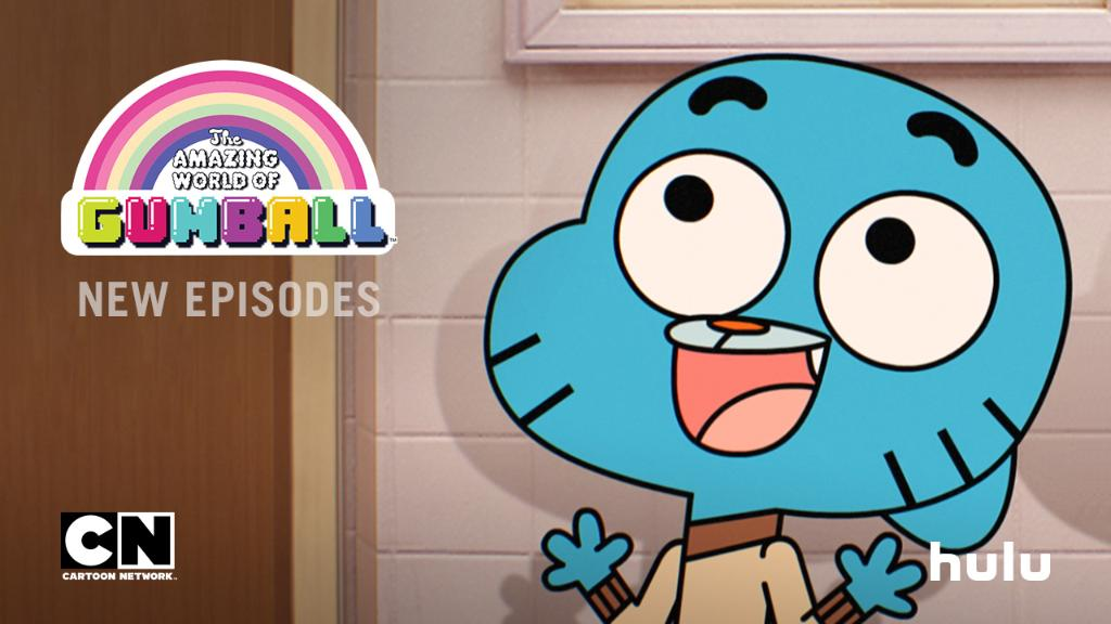 hulu on twitter new episodes of the amazing world of gumball are