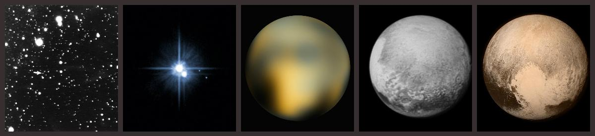 How our view has changed... :-) #PlutoFlyby http://t.co/Bd16SW8QvV