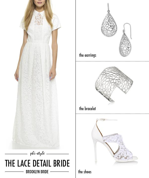 Lace has been big lately! Here's a new take on the trend: Phi-Style: The Lace Detail Bride | http://t.co/Cm7Z9pwVyX http://t.co/xaihWueXRW