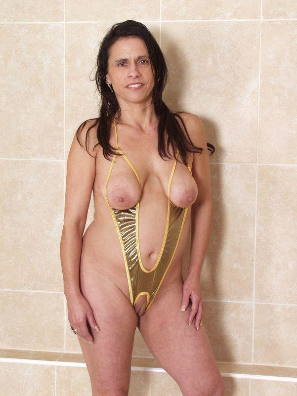 Are Milf in sling bikini are absolutely