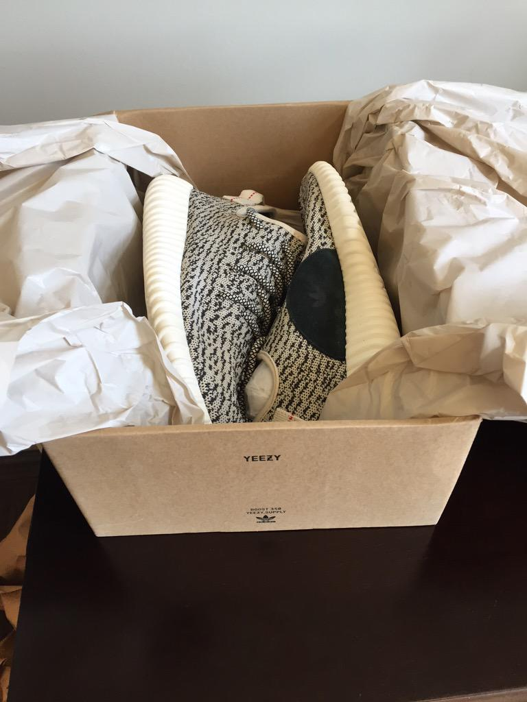 Got my Yeezy shoes just in time for #SECMD15 @kanyewest @adidas http://t.co/hqfn7dHzQA