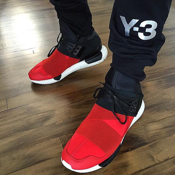 96d2b94c8 Adidas Y3 Qasa High On Feet algestop.nu