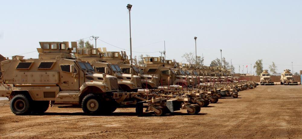 العراق يستلم 30 عربه MRAP نوع MaxxPro CJ4i5D3WsAAn134