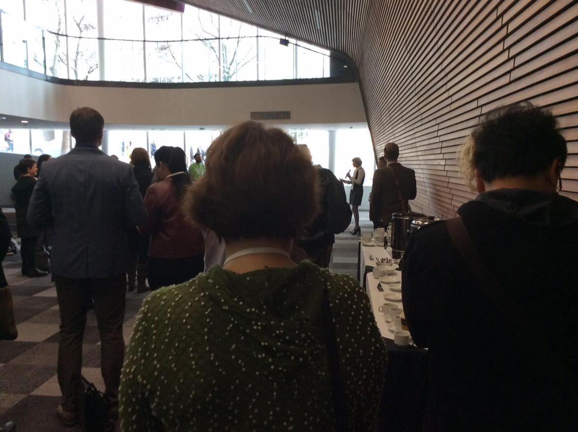Agnes Naera welcoming #dsi2015 to AUT with stories of Sir Paul Reeves http://t.co/f1PbIhKeVv